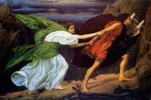 Orfeusz és Euridice a Lyrával