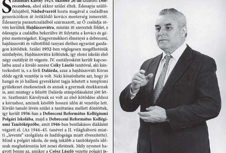 Szathmári Károly életútja 1925–2015