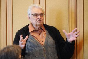 A 80 éves Keuler Jenő köszöntése